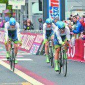 Team Orica setzte beim Giro die ersten Akzente