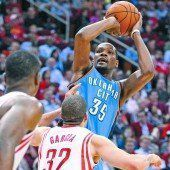 Kevin Durant wertvollster Spieler der NBA