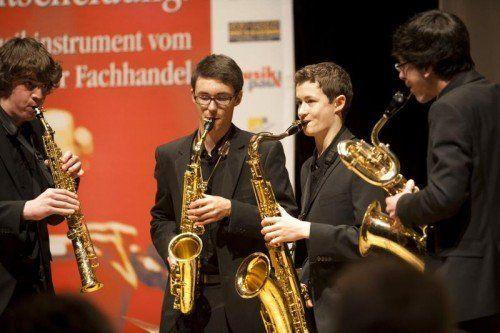 """Traditionell findet das Preisträgerkonzert des Jugend-Musikwettbewerbs """"Prima la Musica"""" im ORF-Landesfunkhaus in Dornbirn statt. foto: prima la musica"""