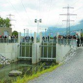 Schutz vor Hochwasser am Rheintalbinnenkanal