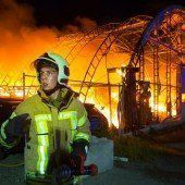 Brand in Hard: Ursache Defekt im Leitungsnetz
