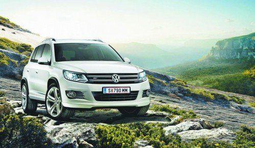 VW Tiguan: Bis zu seiner Modellablöse, die 2015 ansteht, bleibt der SUV-Top-Seller sportlich frisch im Amt.