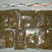 Milde für jungen Drogenkurier