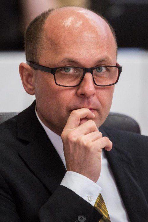 Die 2. Sitzung des XXIX. Vorarlberger Landtags im Jahr 2014. Michael Ritsch (SPÖ)