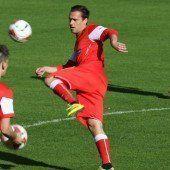 Trainingsstart mit zwei Ländle-Fußballern