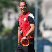 Hütter startete mit RB Salzburg ins Training
