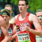 Andreas Vojta lief über 1000 m neuen Rekord