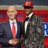 Cleveland holte sich im Draft Andrew Wiggins