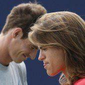 Andy Murray lobt seine neue Trainerin Mauresmo