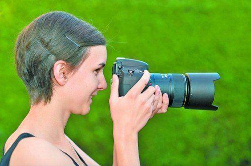 Angelika Spöttl macht mit ihren Fotos sichtbar, was ohne sie vielleicht nie wahrgenommen worden wäre.  Foto: Heinrich Spöttl