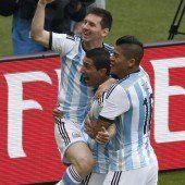 Zwei Tore von Messi