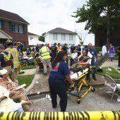 Texas: Gebäude eingestürzt