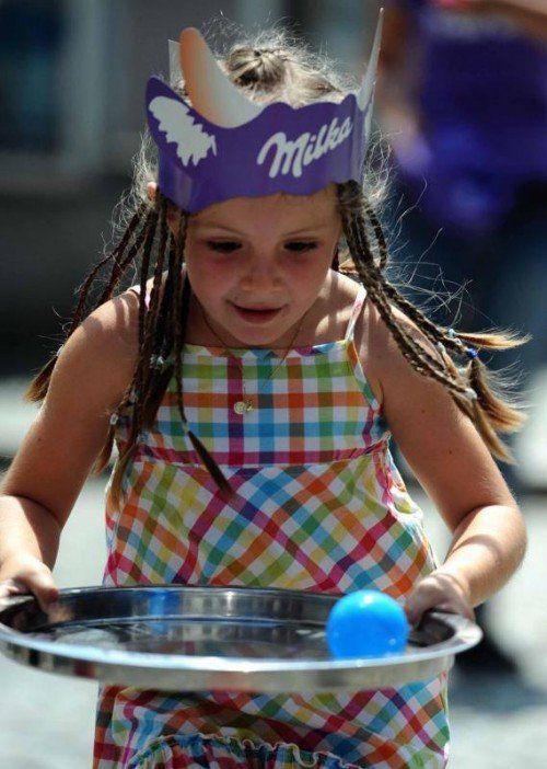 Bei Suchard-Hersteller Mondelez sind Kinder sehr wichtig.
