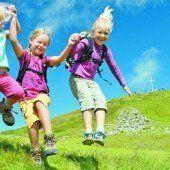 Großer VN-Hüttenreport: Wandern steht auch bei den Kleinen hoch im Kurs