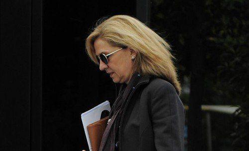 Cristina, die Schwester des spanischen Königs Felipe, soll nach dem Willen eines Ermittlungsrichters angeklagt werden.  Foto: AP