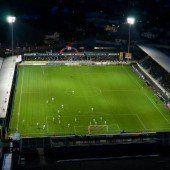 Stadion wird adaptiert