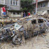 Bulgarien kämpft mit den Folgen der Flut