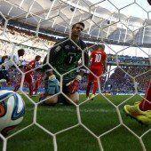 Frankreich stößt Tor zum WM-Achtelfinale auf