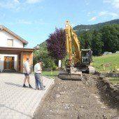Straßenausbau in Schnifis um 100.000 Euro