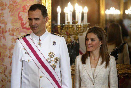 Der spanische König Juan Carlos hat abgedankt und hat den Thron für seinen Sohn Felipe frei gemacht. Letizia ist damit in der Geschichte der spanischen Monarchie die erste Königsgemahlin aus bürgerlichem Haus. Foto: AP