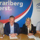 Zwei Jungpolitiker vorne auf der FPÖ-Landesliste