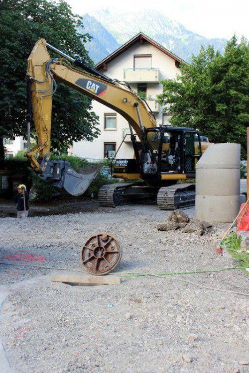 Die Kanalsanierung in Bludenz ist gestartet. Foto: VN/js