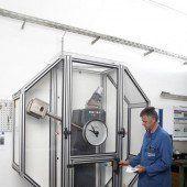 Erne öffnet Prüflabor: Metall mit Sicherheit