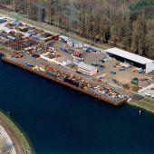 Loacker Rheinhafen Recycling eingegliedert