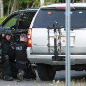 Amokläufer erschießt in Kanada drei Polizisten