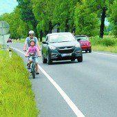 Die Forderung nach sicherer Fahrradstrecke