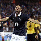 Frankreich schießt sich für WM ein