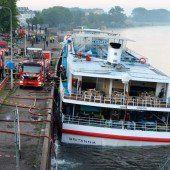 Touristenschiff in den Niederlanden evakuiert
