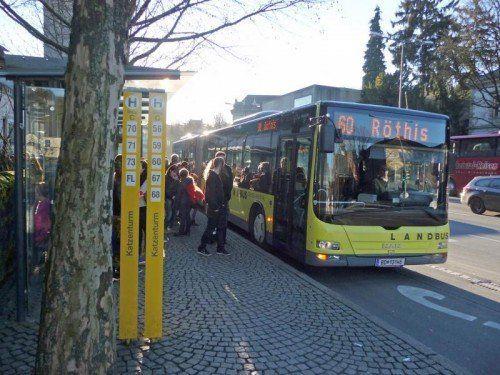 """Verkehrsmittel müssen optimal aufeinander abgestimmt sein"", so VCÖ-Experte Markus Gansterer. Foto: VN"
