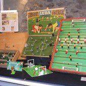 Sticker und Spiele zum Thema Fußball