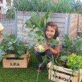Garten-Engagement von Lea und Fabiola wird belohnt