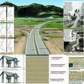 13 Meter: Eine Autobahn mit Tiefgang