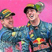 Erster Sieg für Ricciardo