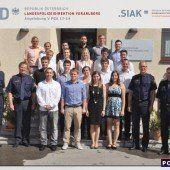 Zwanzig neue Kräfte für Vorarlbergs Polizei