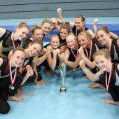 Zwei Goldene für das TSZ Dornbirn im Teamturnen