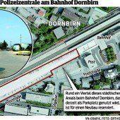 Vor Lösung für Polizei-Bau