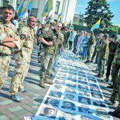 Tiefe Gräben in der Ukraine