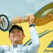 Nico Rosberg fährt Richtung Titel