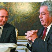 Ukraine-Krise: Putin drängt in Wien auf Lösung und Friedensverhandlungen