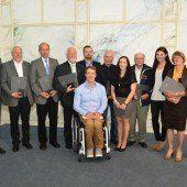 Elf Sport-Persönlichkeiten erhielten Auszeichnungen