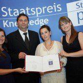 Staatspreis Knewledge 2014 für Zumtobel