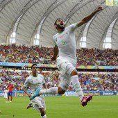 Algerien nach 4:2-Sieg mit Aufstiegschancen