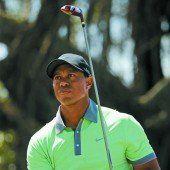 Tiger Woods steht vor dem Comeback