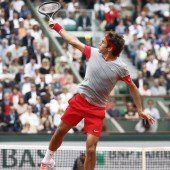 Auch Federer sagt in Paris au revoir