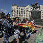 Festnahmen in Moskau bei Protestmarsch für Wurst