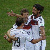 Deutschland überrollt Portugal mit 4:0